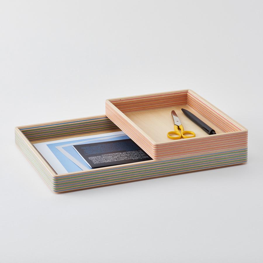 Plywood Laboratory Desktop Accessories